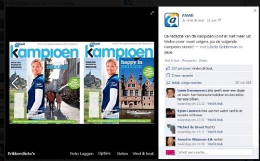 De ANWB stelde namens de redactie van de Kampioen een vraag: ruim 800 reacties!